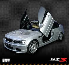 BMW E39 1995-2003, 4d Model, LAMBO DOOR KIT, PAIR.