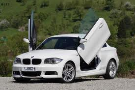 BMW E82 1 Series Coupe 2007-up 2d Model, LAMBO DOOR KIT, PAIR.