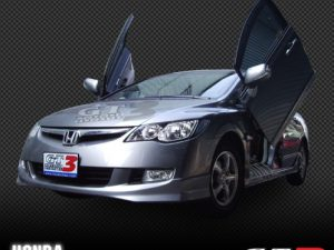 HONDA ACCORD 1998-2002, 4D Model, LAMBO DOOR KIT, PAIR.