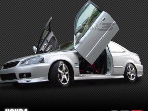 Honda Civic 1996-2000, 2D Model, LAMBO DOOR KIT, PAIR.