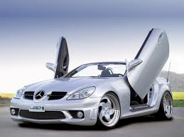 MERCEDEZ SLK R170 1997-2002, LAMBO DOOR KIT, PAIR.