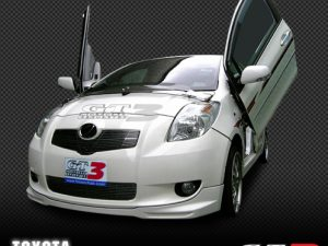 Toyota Yaris 2006-up, LAMBO DOOR KIT, PAIR.