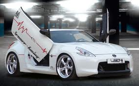NISSAN 370Z, LAMBO DOOR KIT, PAIR.
