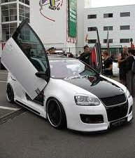 VW Golf V, 5D Model, LAMBO DOOR KIT, PAIR.