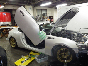 Subaru BRZ, LAMBO DOOR KIT, PAIR.