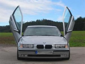 BMW E36 1992-1999, 2d Model, LAMBO DOOR KIT, PAIR