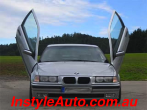 BMW E36 1992-1999, 4d Model, LAMBO DOOR KIT, PAIR.