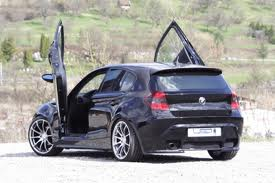 BMW E87 1 Series 2004-up 5door Model, LAMBO DOOR KIT, PAIR.