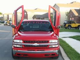 Chevrolet Silverado 1999-up, LAMBO DOOR KIT, PAIR.