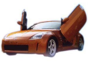 NISSAN 350Z Z33 2003-UP, LAMBO DOOR KIT, PAIR.