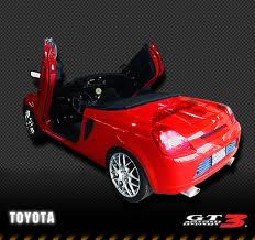 Toyota MR2 2000-2007, LAMBO DOOR KIT, PAIR.