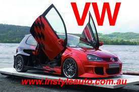 VW Golf VI, 3D Model, LAMBO DOOR KIT, PAIR.